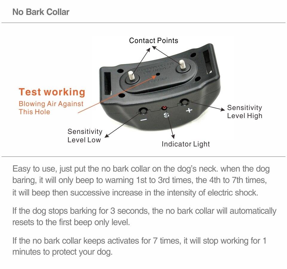 2nd No Bark Collar PET853