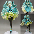 28cm Hatsune Miku Japanese Figurine Toys Commercial ver Figma Anime Action Figure Racing MIKU Model Decor Gifts RT210