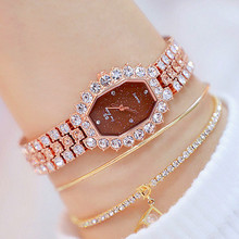 New Hot Sale Polygon Watch Chain Custom Rhinestone Gift for Women  Fashion & Casual Chronograph