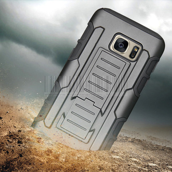 Hybrid Armor Shockproof Case +Holster With Belt Clip Cover For Samsung Galaxy S3S4 MiniS5S6S7 EdgePlusActiveNote 2345 iphone 6 plus kılıf