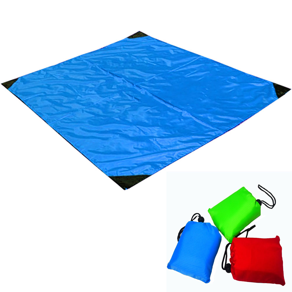 Beach Blanket Tarpaulin Beach Mat Outdoor Camping Folding