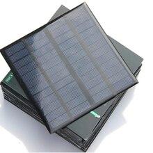 3 ватт поликристаллический кремний солнечных батарей 12V DIY солнечный Мощность Батарея Зарядное устройство 145*145 мм 3 Вт небольшие солнечные панели обогреватели
