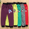 Hot Sale!Spring autumn cotton boy pants girl Mickey pants kids casual pants boy Sweatpants children sports trousers girl clothes