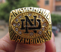 Free shipping high quality 1988 Notre Dame Championship Ring, best  Brithday gift for men, accept custom design factory