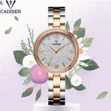 CADISEN Womens Watches  Fashion Quartz Ladies Watch Waterproof For Women Luxury Brand Zegarek Damski