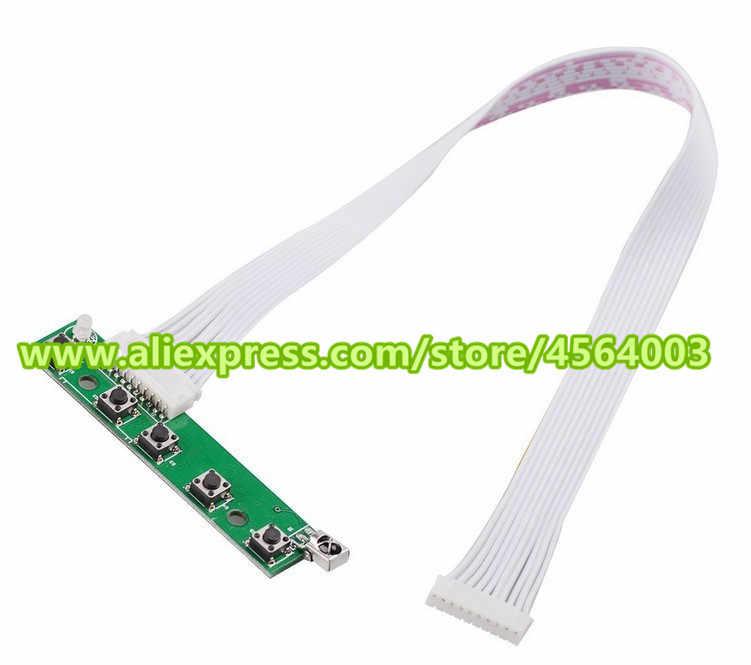 """9 """"inch Mini màn hình Hiển Thị Ma Trận LCD điều khiển TTL 50pin Âm Thanh bảng Điều Khiển Màn Hình HDMI VGA 2AV Đầu Vào đối với raspberry pie"""