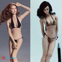 Sexy Inconsútil Femenino Phicen 1/6 Super-Flexible Bodywith Esqueleto de Acero Inoxidable para 1: 6 figura Muñeca Juguetes PLMB2014-S01 S02