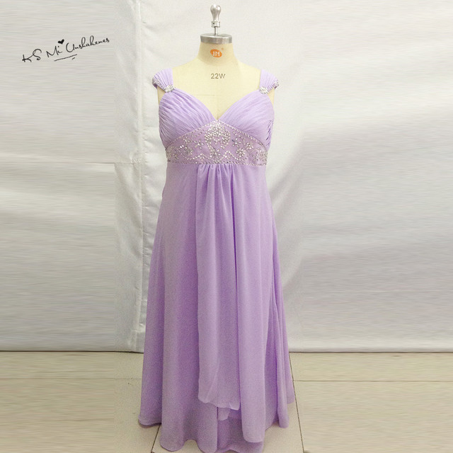 Aliexpress.com : Buy Lavender Plus Size Mother of the Bride ...