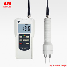 Genuine Brand AMITTARI Multifunctional Wood Moisture Meter Tester Pin and Inductive measurement Chipboard Building Wall Concrete