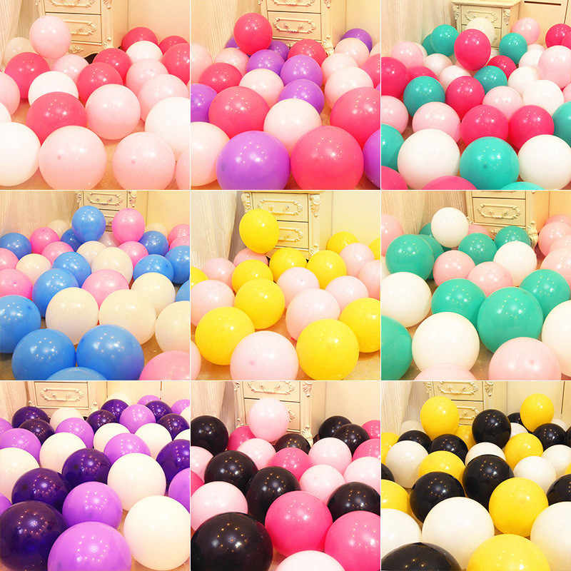 10pcs 12inch Light Pink Latex Balloons Birthday Party Decorations Kids Wedding Ballons Marriage Matte Balloons Air Balls Globos