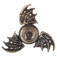 2017 Metal Tri Spiner Dragon EDC Fidget Toys Game Of Thrones Hand Spinner Metal Finger Stress