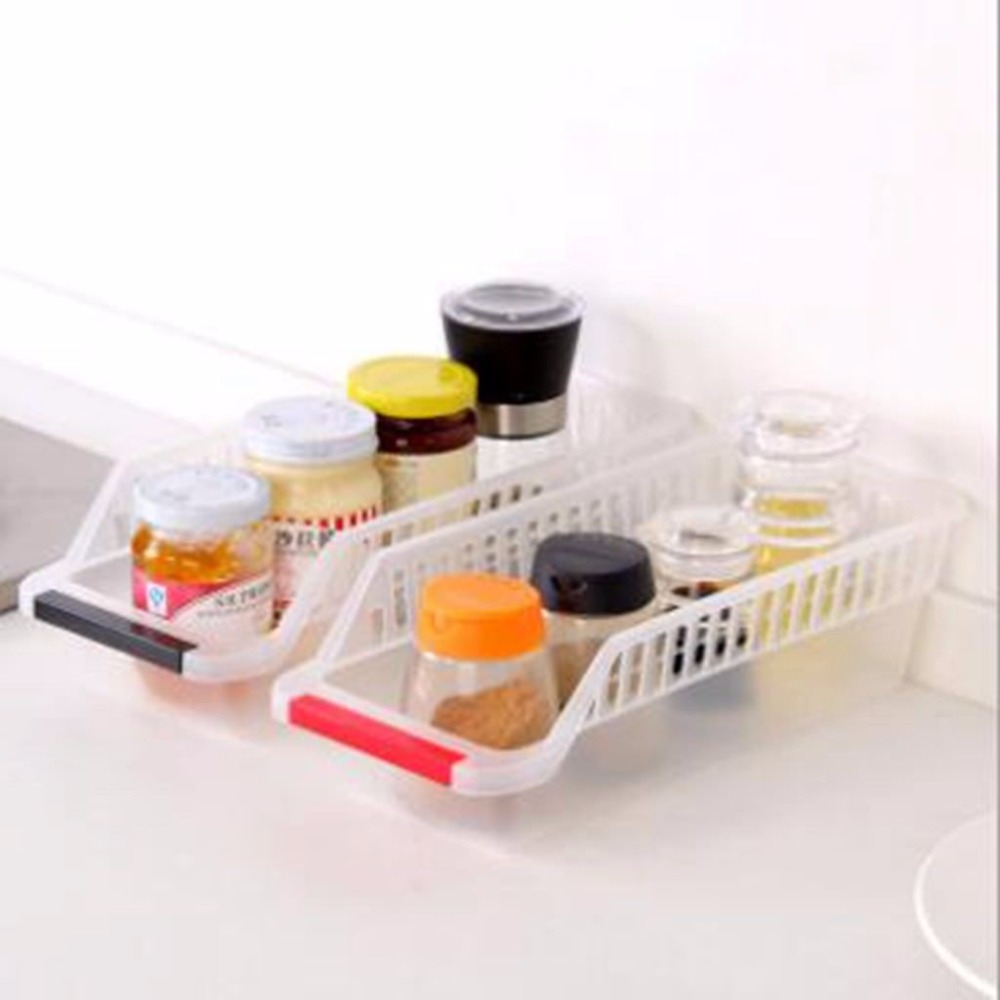 Clear Holder Refrigerator Set Veg Storage Plastic 2x Fruit Cans Organiser Fridge