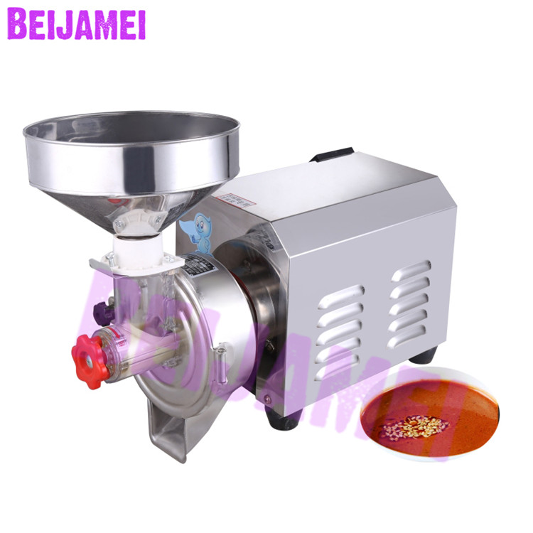 BEIJAMEI Commercial Electric Peanut Butter Grinder Machine 40kg/h Automatic Sesame Peanut Nut Paste Butter Maker