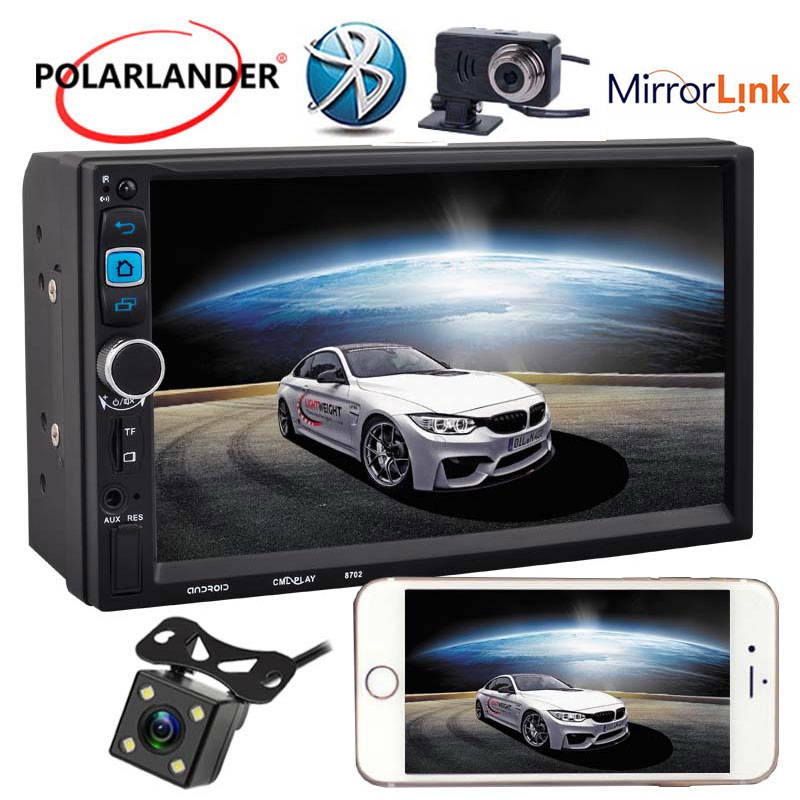 7 2DIN  With DVR + Rear view Camera Mirror Link  Android 5.1.1 System Car MP5 Player Touch Screen7 2DIN  With DVR + Rear view Camera Mirror Link  Android 5.1.1 System Car MP5 Player Touch Screen