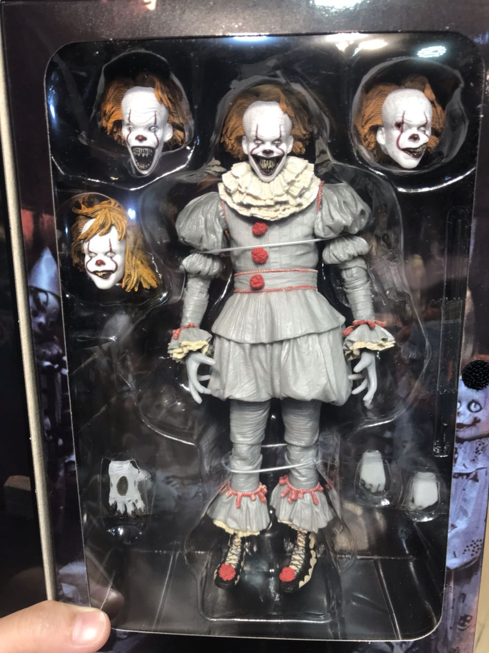 Children cartoon toys clown 2017 Stephen Kings It Ultimate Evil version 7 inch movable doll action figure NECAChildren cartoon toys clown 2017 Stephen Kings It Ultimate Evil version 7 inch movable doll action figure NECA