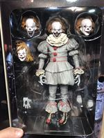 Children cartoon toys clown 2017 Stephen King's It Ultimate Evil version 7 inch movable doll action figure NECA