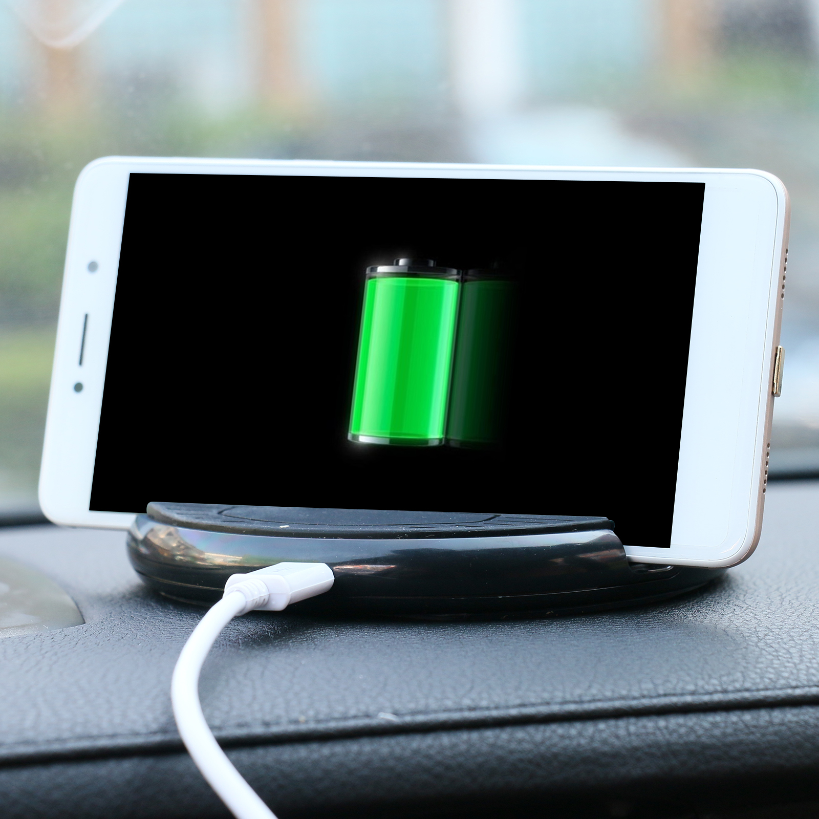 AUTOOL Car Wireless Charging Stand, For Iphone Samsung Galaxy Google Nokia Lumia and Qi Enabled Devices
