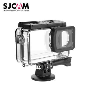 Image 1 - Оригинальный подводный водонепроницаемый чехол для SJCAM SJ8 Air SJ8 Plus SJ8 Pro, Экшн камера для дайвинга 30 м, DVR SJCAM аксессуары