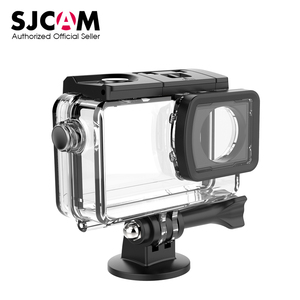 Image 1 - מקורי מתחת למים עמיד למים מקרה עבור SJCAM SJ8 אוויר SJ8 בתוספת SJ8 פרו צלילה 30M פעולה מצלמת DVR SJCAM אבזרים