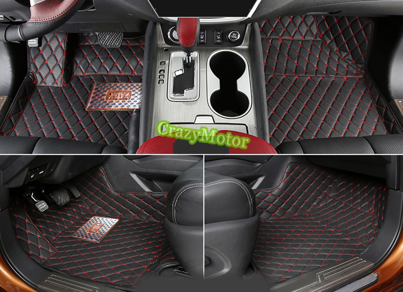 Car floor mats For NISSAN x-trail rogue 2008 2009 2010 2011 2012 2013 car-styling car rear trunk security shield shade cargo cover for nissan qashqai 2008 2009 2010 2011 2012 2013 black beige