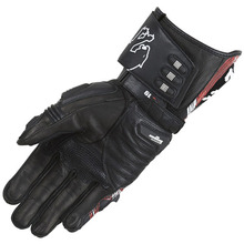 Motorcycle genuine leather protective gloves