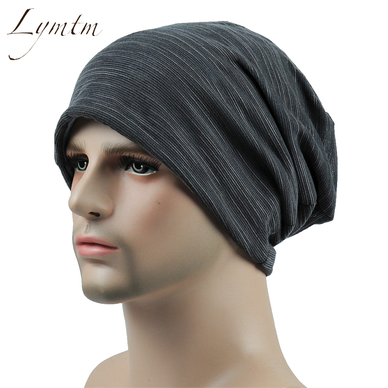 [Lymtm] 2018 Slouchy Beanie Summer Thin Solid Turban Hat for Women and Men Casual Cap