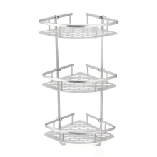 Corner Rack 3 Layer Bathroom Towel Rack Alumimum Bathroom Shelf Wall Mounted Toilet Bathroom Hardware