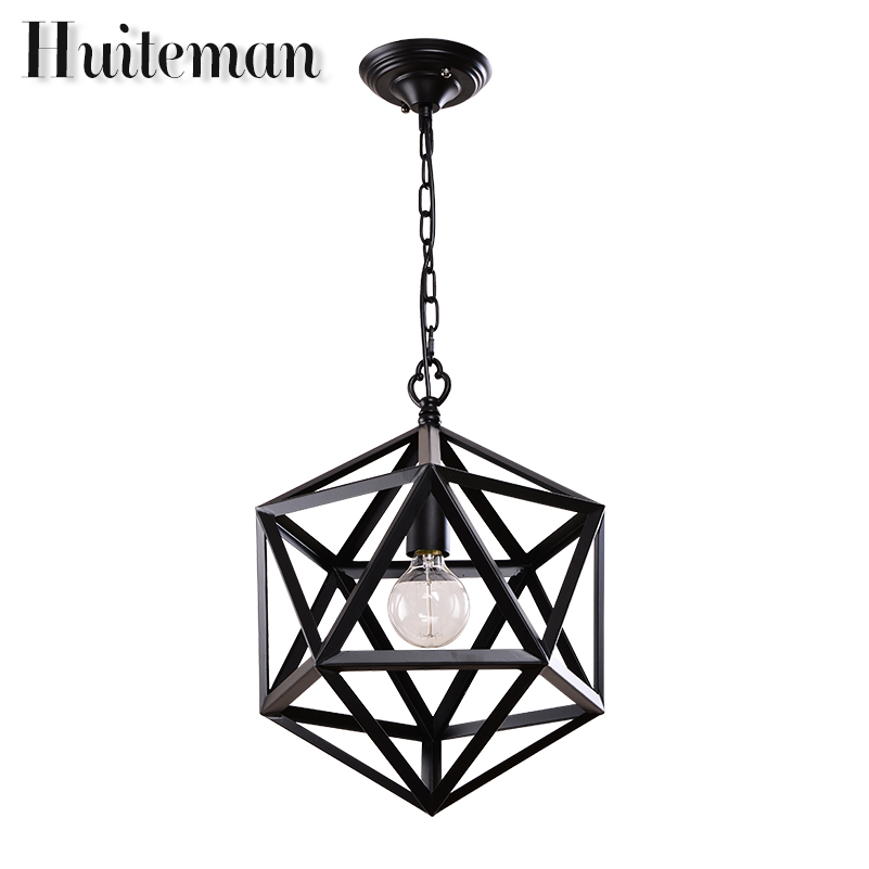 Huiteman Industrial Vintage Pendant Lights Dining Room Lamp coffee Creative Personality Lamp Edison Bulb American Style Lighting