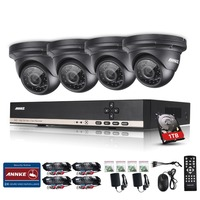 Big Promotion SANNCE Security CCTV 800TVL Day Night IR 4 Cameras High Definition Video Surveillance 960P