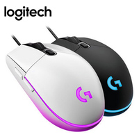 Logitech G102 Wired Gaming Mouse IC PRODIGY 16.8M Color RGB Backlit PC gamer 8000DPI Mause Optical Computer Laptop Gaming Mouse