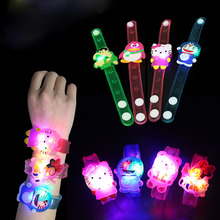 Z Flash LED Cartoon Bracelet Lighting Kids for Children Birthday Gift Party Decoration Flash Luminous Watch Bracelet Flash Watch