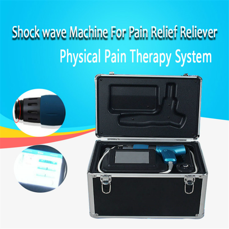 Extracorporeal Shock Wave Therapy Acoustic Wave Shockwave Therapy Physical Pain Relife System Treat Pain In Joints