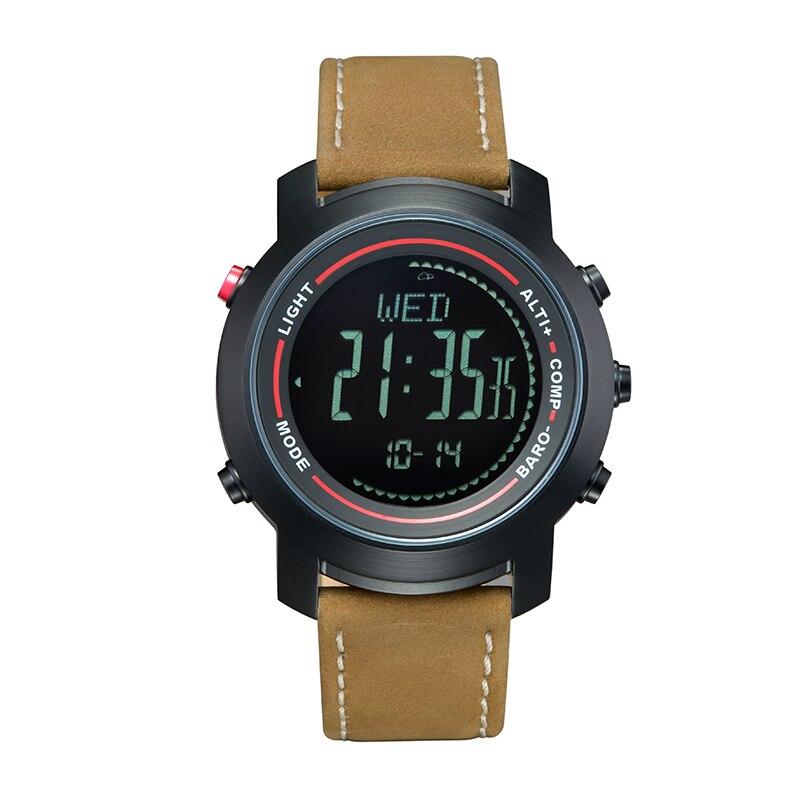 2019 Top Merk Sport Horloge voor Man Waterdichte Digitale Smart Horloge Militaire Kwaliteit EEN Grote Wijzerplaat Gift voor Mannen Causale jurk-in Digitale Klokken van Horloges op  Groep 1