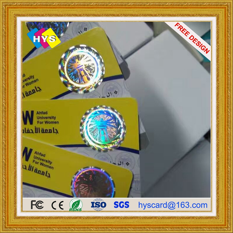 Hologram Card For Business,Anti-Fake Mark Printing Pvc Card Supply