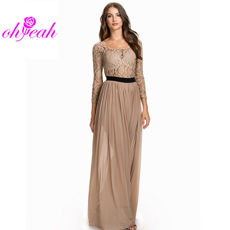 Nice long dresses cheap
