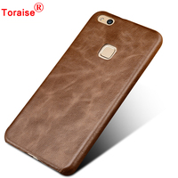 Huawei P10 Lite Case Genuine Leather High Quality Vintage Back Cover Case For Huawei P10 Lite