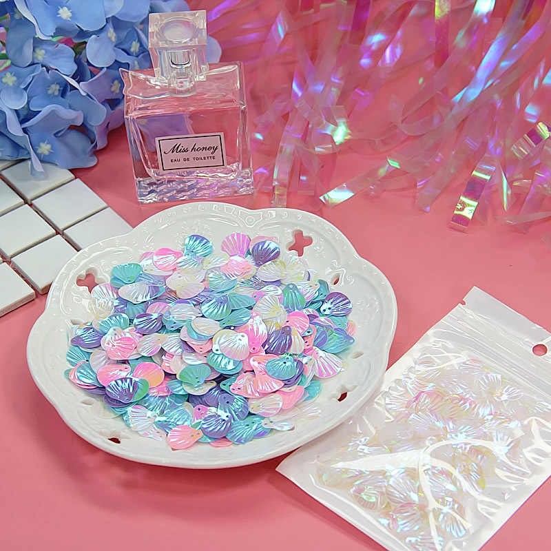 Magic Pearlescent Shell Sequins Filler For Slime Gift Toy For Kids Lizun DIY Glitter Slime Accessories Supplies Decoration