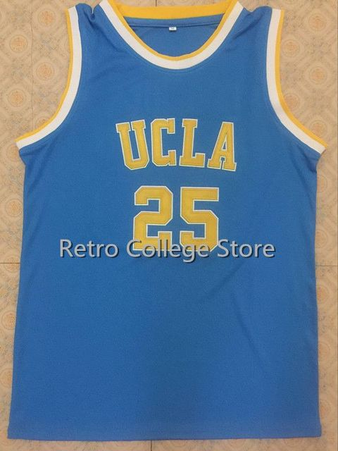 sneakers for cheap ae475 d85f7 #25 UCLA Bruins Goodrich Retro men Basketball jersey, Custom Size Size and  Player Name XXS 6XL white bule-in Basketball Jerseys from Sports & ...