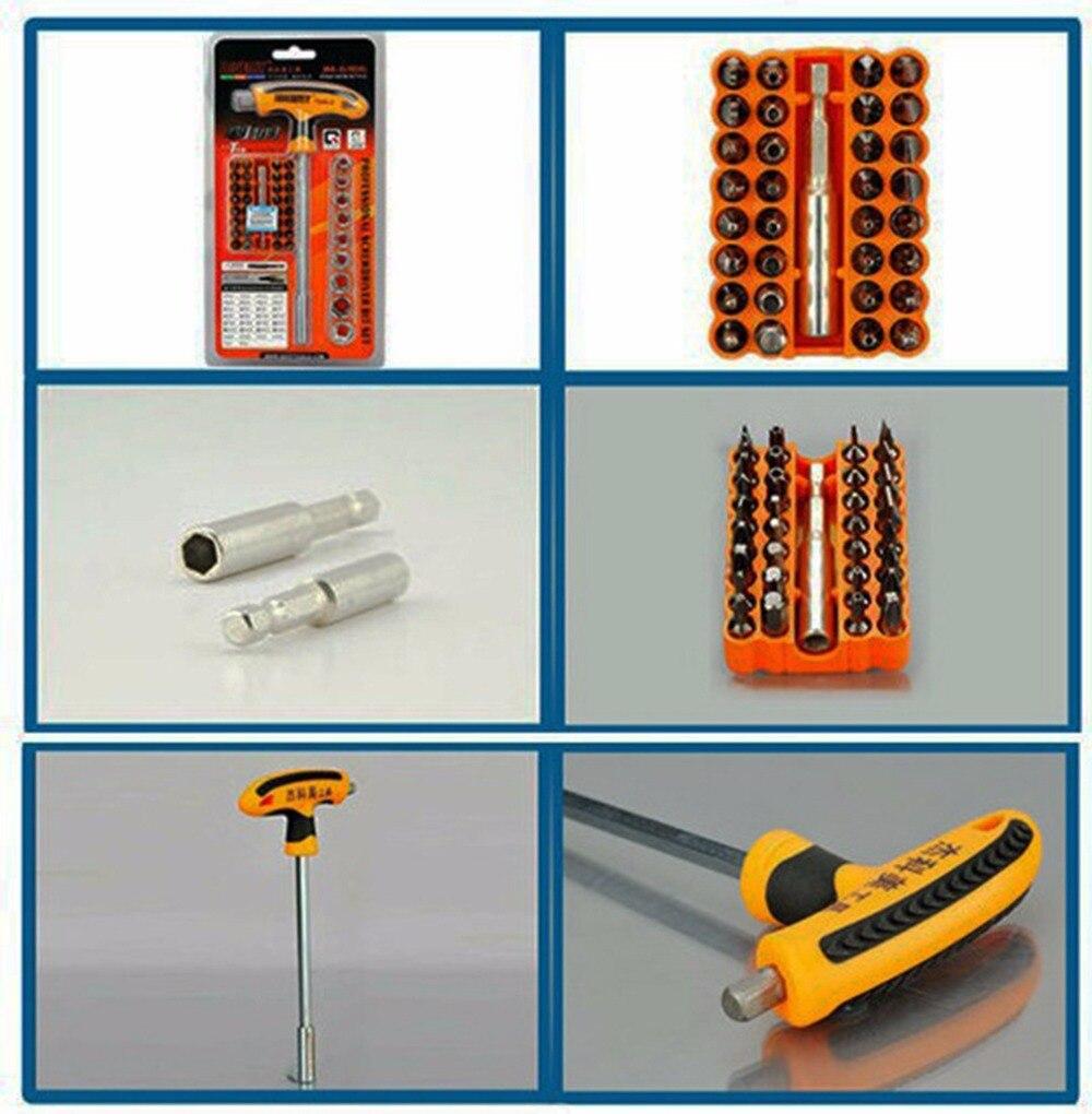 Точность jm-6106 Мультитул ремонт автомобилей набор инструментов комплект насадок и ремонт дома отвертка Torx ручной инструмент