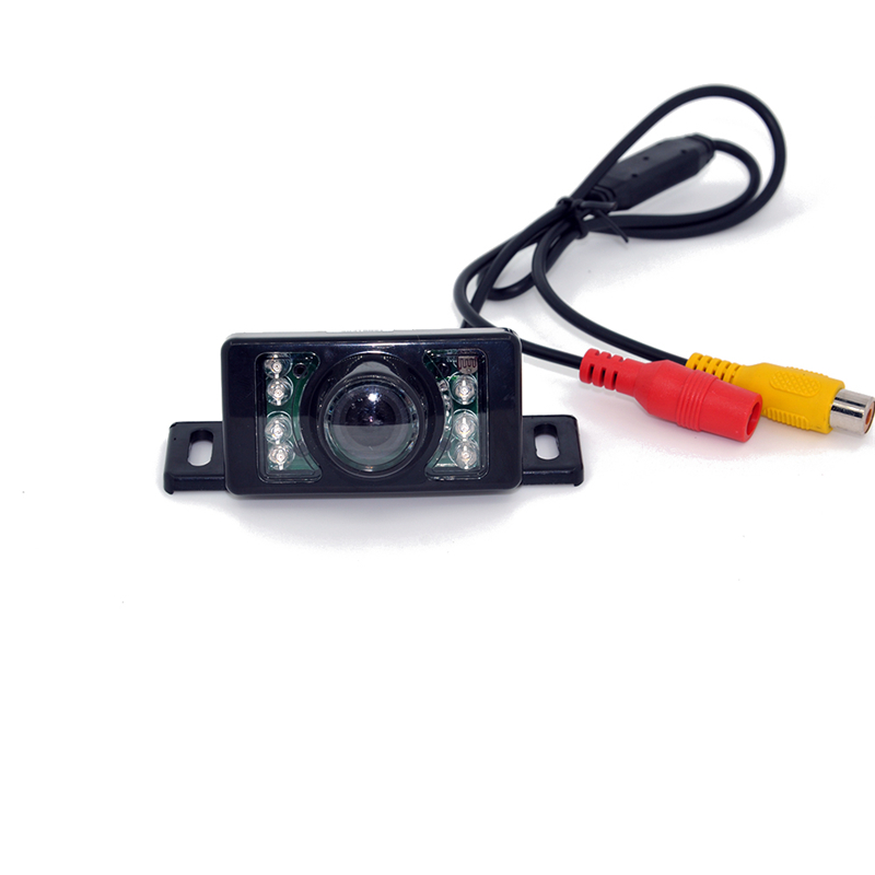 7LED Night Vision Car CCD Rear View Camera With 4.3 inch Color LCD Car Video Foldable Monitor Camera Auto Parking Assistance 10