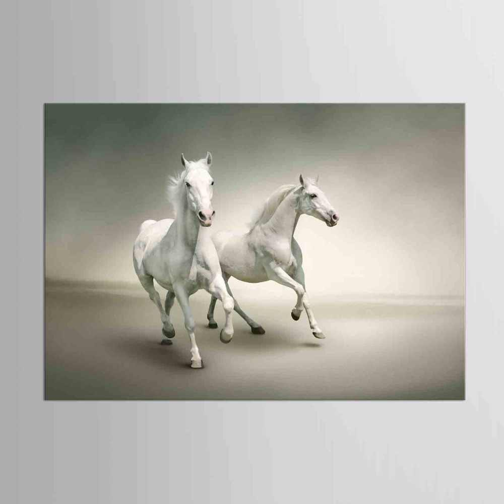 1 panel Horse Picture Canvas Printing Black White Animal Photo Paintings Home Decor Modern Wall Art Pictures