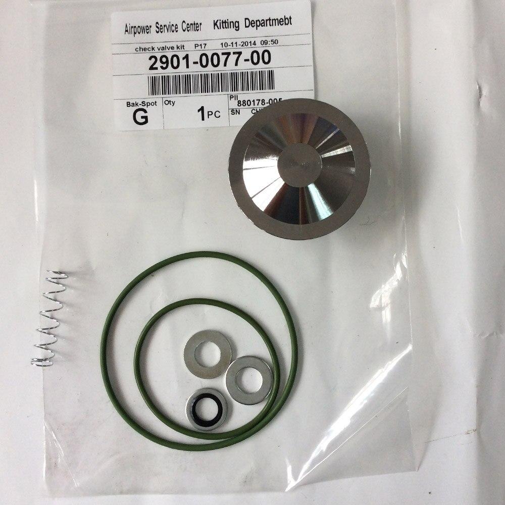 2901030200 pièces de rechange de Kit de Service de Valve de déchargeur pour le remplacement de compresseur d'air de vis d'atlas Copco GA90KW - 4