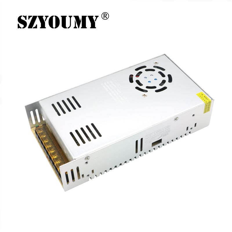 цена на SZYOUMY DC 12V 30A 360W Regulated Switching Power Supply AC100-120 200-240V Electronic Lighting Transformer For LED Light Strip