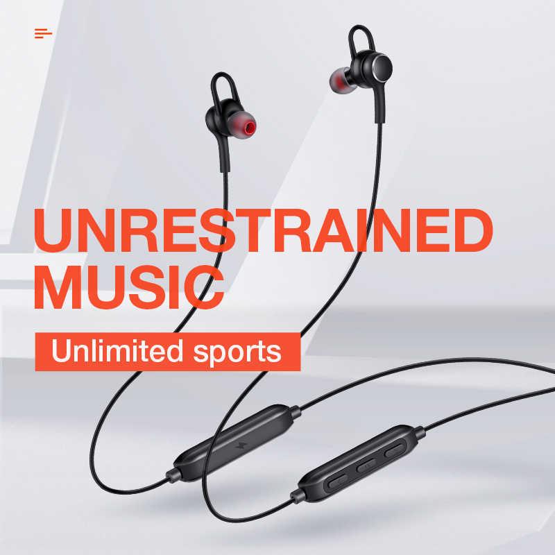 SANLEPUS D02 bezprzewodowe sportowy zestaw słuchawkowy Bluetooth słuchawki 5.0 zestaw słuchawkowy zestaw głośnomówiący słuchawki douszne do iPhone'a Xiaomi Huawei Samsung