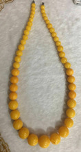 Amber necklace Necklace Beads Necklace honey wax amber sweater chain