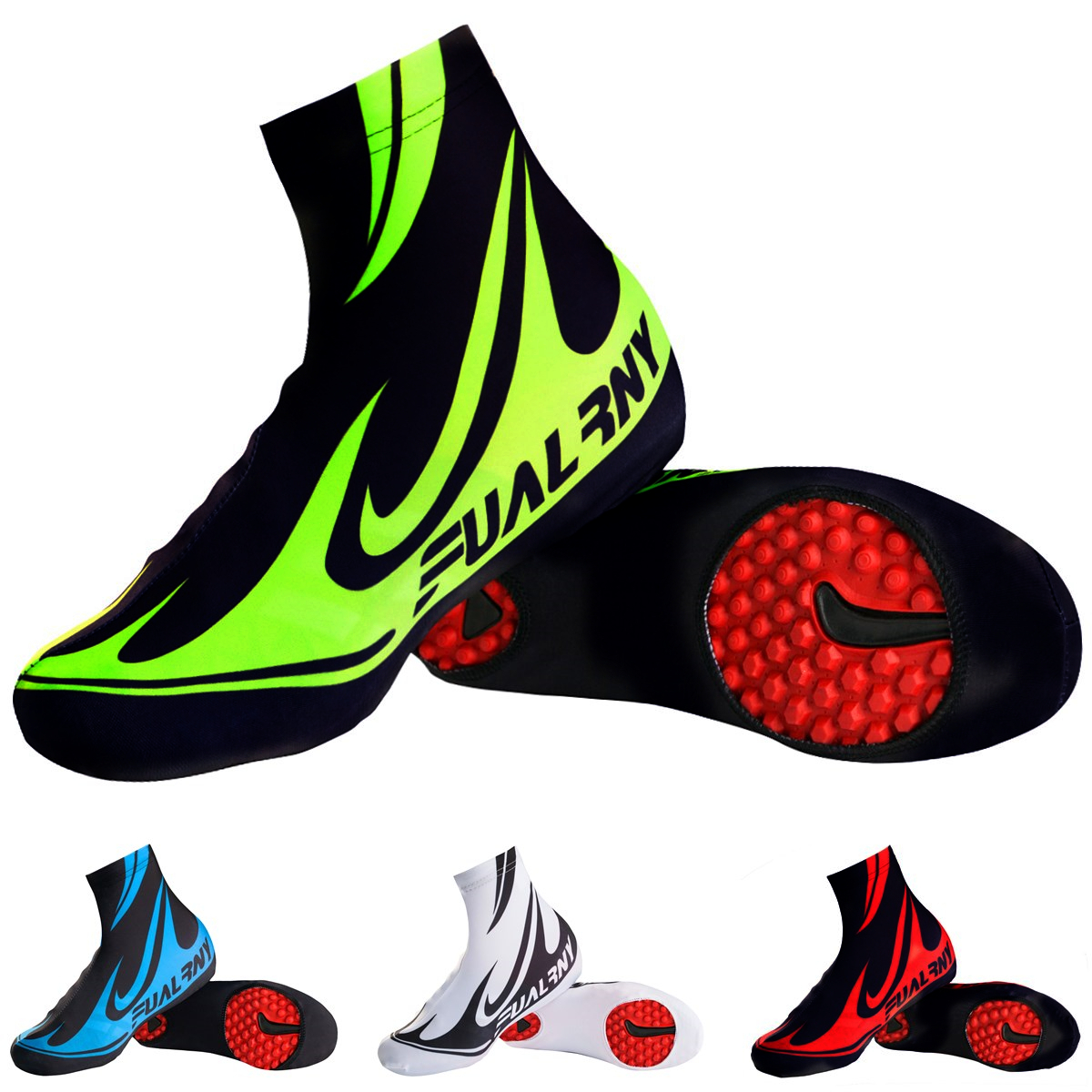 Fualrny Durable Moisture Absorption Breathable MTB Road Mountain Bike Bicycle Cycling Shoes Covers Bike Equipment