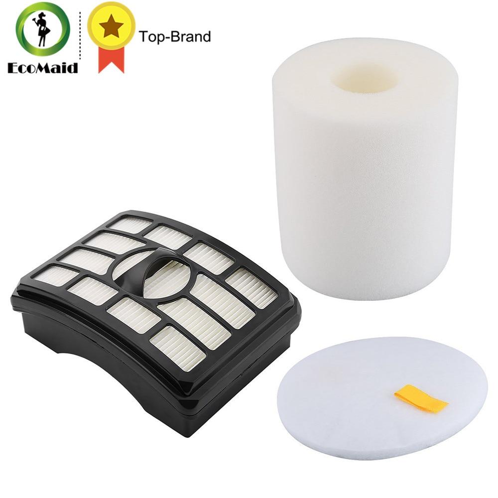 Foam Filter For Shark Rotator Pro Lift-Away NV500 NV501 HEPA Filter Kit Replacemnt Vacuum Cleaner Filter Part XFH500 XFF500 sephora vintage filter палетка теней vintage filter палетка теней