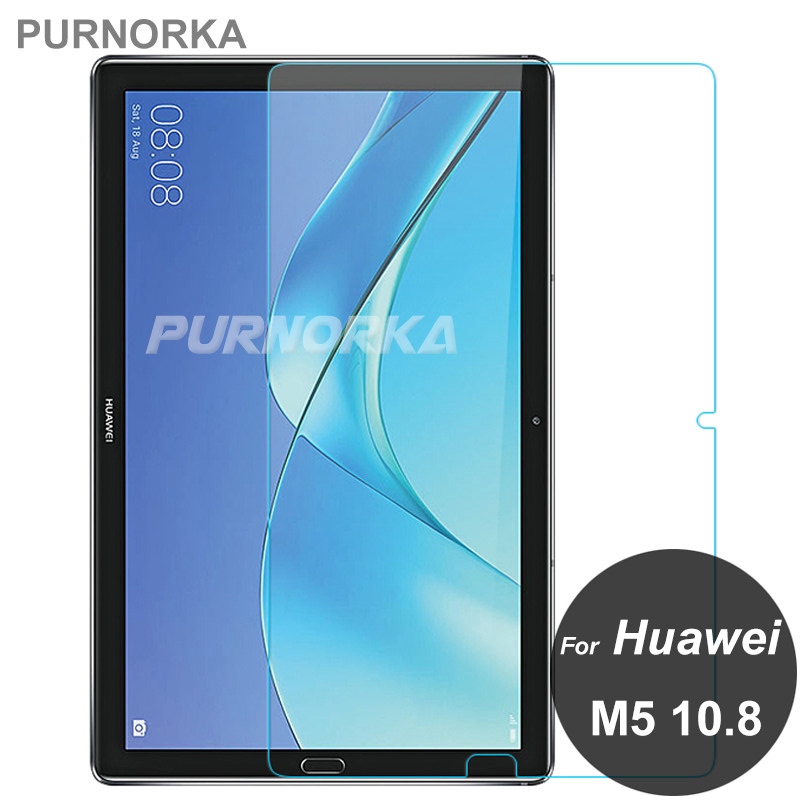 For Huawei MediaPad M5 Pro 10.8 Screen Protector 9H Tempered Glass Protective Film On Mdeia Pad M5Pro 10 CMR-W09 CMR-AL09 AL09