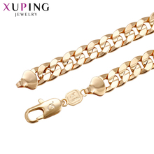 11.11 Deals Xuping Fashion Necklace Gold Color Environmental Copper for Women Thanksgiving Jewelry Gift S71-43660
