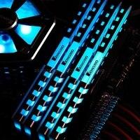2pcs Memory Heatsink Motherboard AURA Cooling Vest RGB 256 Color Light Radiator J03 19 Dropship